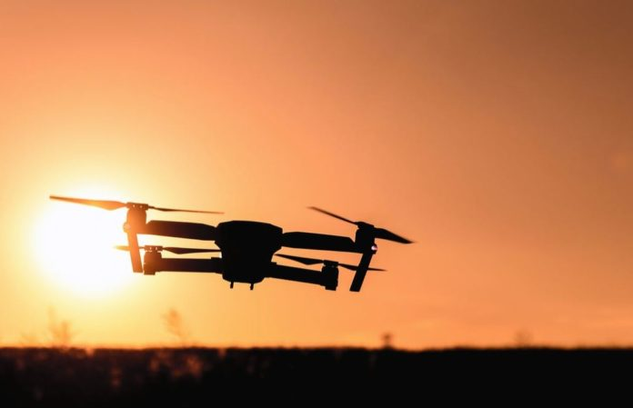 wedding filming drone